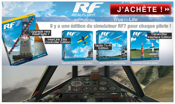 Les simulateurs Real Flight chez Mission Modélisme !