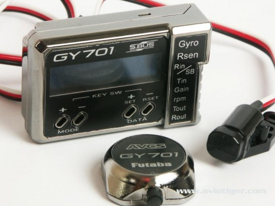 GYROSCOPE GY701 + GOVERNOR