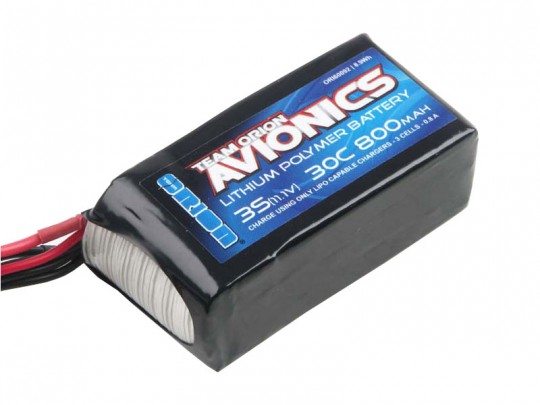 Batterie LiPo 3S Team Orion Avionics - 11,1V - 800mAh - 30C