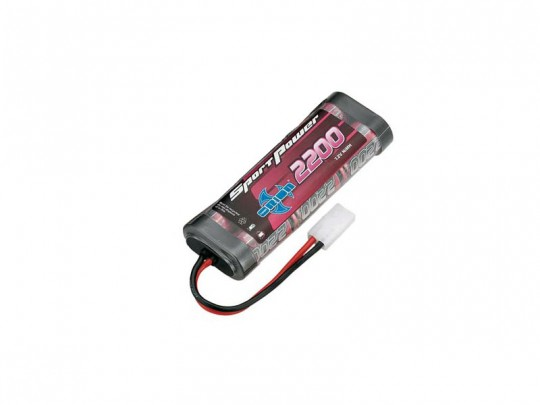 Batterie NiMH Sport Power- 7,2V - 2200mAh - connecteur Tamiya