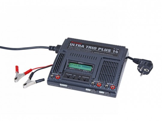 Chargeur universel rapide ULTRA TRIO PLUS 14 - 3 sorties de charge - 12V / 100-240V