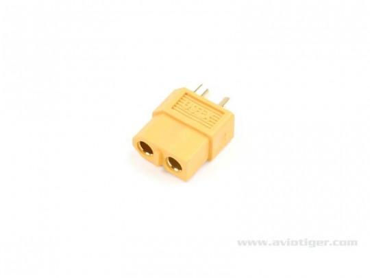 Connecteur or XT 60 mâle - vendus par 4