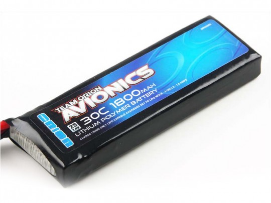 Batterie LiPo 2S Team Orion Avionics - 7,4V - 1800mAh - 30C