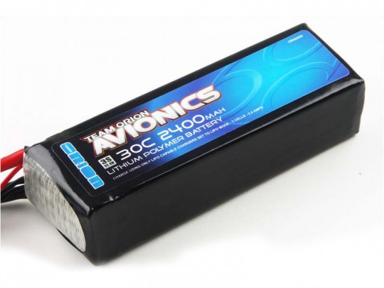 Batterie LiPo 3S Team Orion Avionics - 11,1V - 2400mAh - 30C