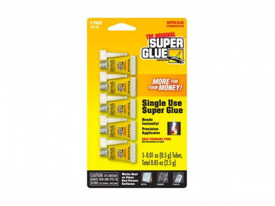 Super Glue Single use - 5 tubes de 0,5g