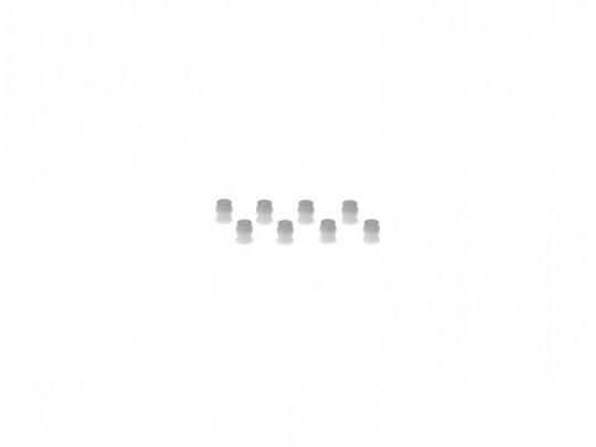 Entretoises Option Part Kyosho LAW32 ZX-5 P.O.M (par 8)