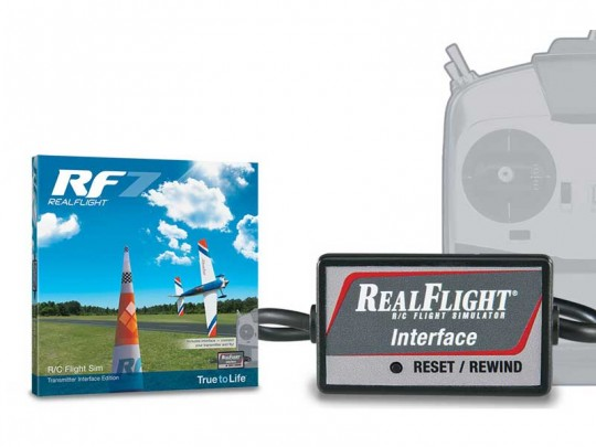 Simulateur de vol Real Flight RF7.5