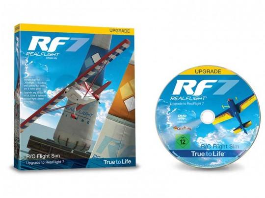 Mise à jour vers RealFlight RF7.5