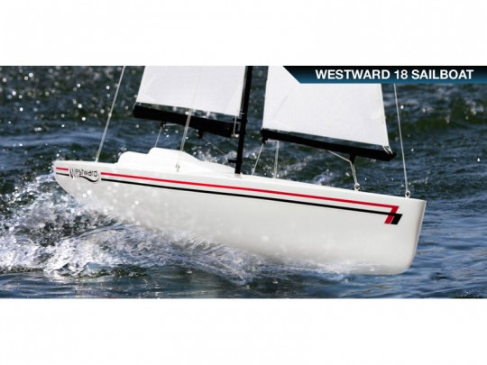 "Voilier Westward 18"" RTR et ensemble RC Spektrum 2,4GHz"