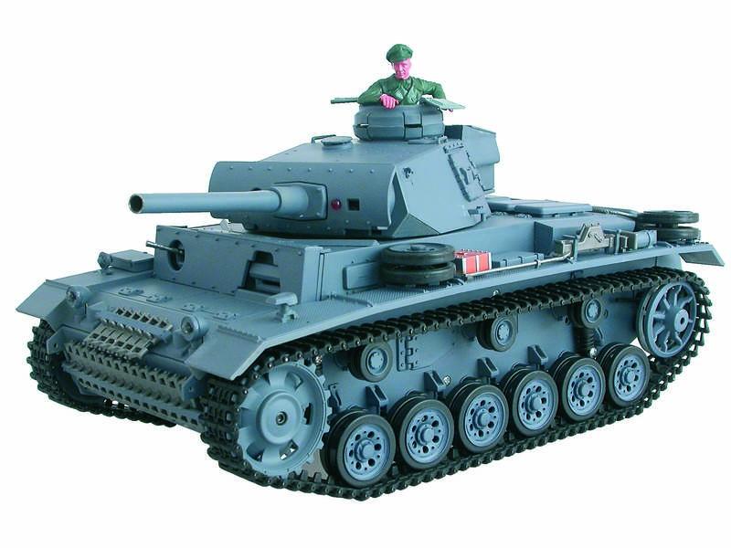 char d 39 assaut rc 1 16 panzerkampfwagen iii complet bruit. Black Bedroom Furniture Sets. Home Design Ideas