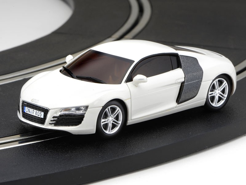 dslot43 audi r8 blanche kyosho mission mod lisme. Black Bedroom Furniture Sets. Home Design Ideas