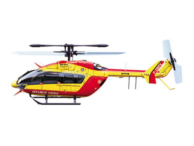 H licopt re srb eurocopter ec145 s curit civile super for Helicoptere rc electrique exterieur