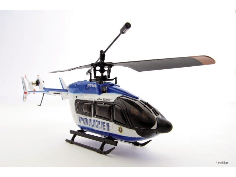 H licopt re solo pro 128 ec145 rtf 2 4ghz nine eagles for Helicoptere rc exterieur