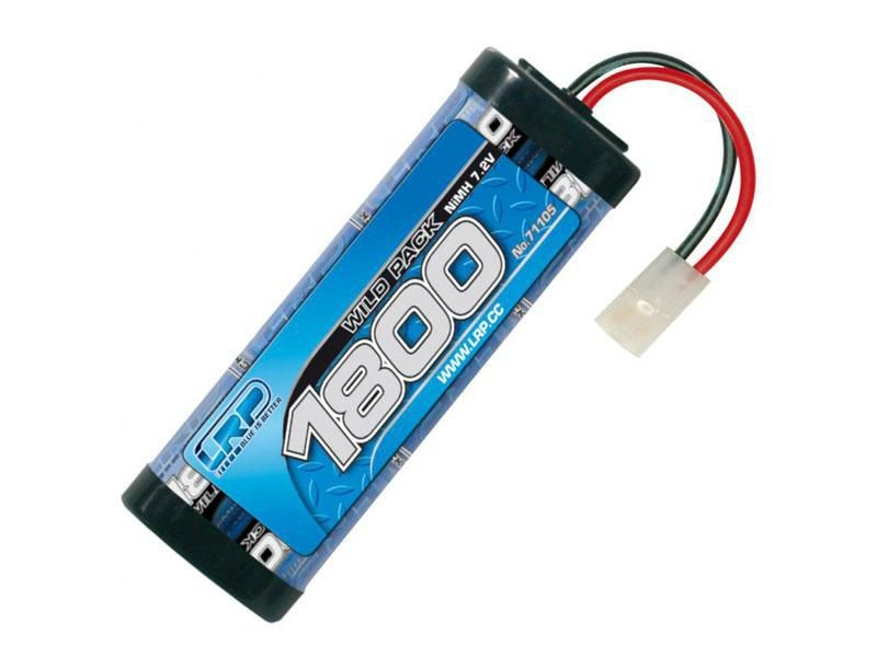 batterie nimh wild pack 7 2v 1800mah connecteur tamiya lrp mission mod lisme. Black Bedroom Furniture Sets. Home Design Ideas