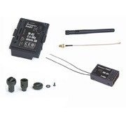 Kit de conversion HoTT 2,4GHZ pour radiocommandes mc-24 - mc-24iFS