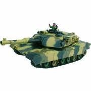 CHAR D'ASSAUT RC 1/24 M1A2 ABRAMS COMPLET