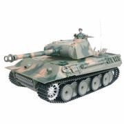 CHAR D'ASSAUT RC 1/16 GERMAN PANTHER COMPLET