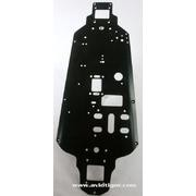 CHASSIS 3MM 7075 NOIR