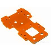 PLATINE FUSEE 2.5MM ORANGE