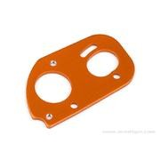 SUPPORT MOTEUR ALU ORANGE