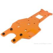 PLAQUE CHASSIS AR ORANGE BAJA