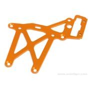 PLAQUE SUP ARRIERE ORANGE BAJA