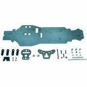 KIT DE CONVERSION CHASSIS PLAT 4MM LONG EB-4 S3
