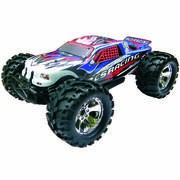VOITURE TRUCK 1/8 4x4 BRUSHLESS RTR (MOTEUR+VARIO+RADIO 2.4+ACCUS)