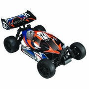 TOMAHAWK BX BUGGY 1/10 4x4 ROUGE SUPER COMBO