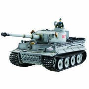CHAR RC 2.4GHZ 1/16 TIGER 1 FIRST VER. METAL +(BRUIT/FUMEE)