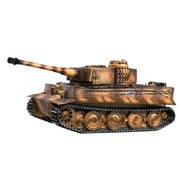CHAR IR 2.4GHZ 1/16 TIGER 1 LATE VER. METAL +(BRUIT/FUMEE)