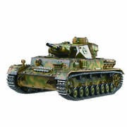 CHAR RC 2.4GHZ 1/16 PANTHER IV AUSF.F1 (BRUIT/FUMEE)