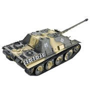 CHAR IR 2.4GHZ 1/16 JAGDPANTHER COMPLET (BRUIT/FUMEE)