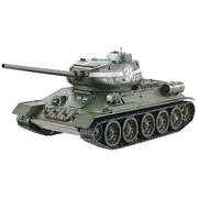 CHAR RC 2.4GHZ 1/16 RUSSE T34-85 METAL + (BRUIT/FUMEE) 360°