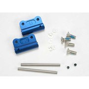 SUPPORTS DE TRIANGLES ARRIERE 6061-T6 ALU ANODISES BLEU (2)