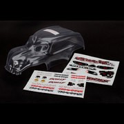 CARROSSERIE TRANSPARENTE SKULLY + AUTOCOLLANTS