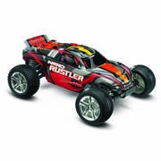 NITRO RUSTLER 1/10-SCALE NITRO-POWERED 2WD STADIUM TRUCK
