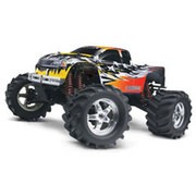 CARROSSERIE PEINTE ET DECOREE POUR MONSTER TRUCK NITRO MAXX