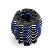 CULASSE POWER TUNE ALU ANODISEE BLEU + SUPPORT PLASTIQUE TRX 3.3
