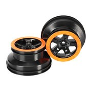JANTES SCT NOIRES/ORANGE DOUBLE PROFIL