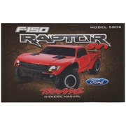 NOTICE D'UTILISATION FORD RAPTOR (MODEL 5806)