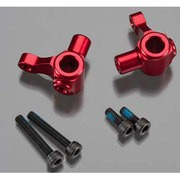 STEERING BLOCKS, ALUMINUM (RED