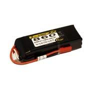 Batterie LiPo Xell Sport 3S 11,1V - 860mAh 25C - prise BEC