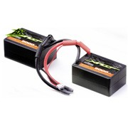Batterie LiPo 2S Xirius Race - saddle Pack - 7,4V - 5000mAh - 30C