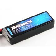 Batterie LiPo 3S Team Orion Avionics - 11,1V - 2100mAh - 30C