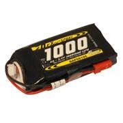 Batterie LiPo Xell Sport 2S 7,4V - 1000mAh 25C - prise BEC