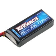 Batterie LiPo 2S Team Orion Avionics - 7,4V - 1000mAh - 30C