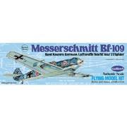 "Avion bois Messerschmitt Bf-109 16.5"" à moteur à élastique"