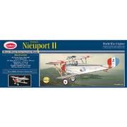 Avion bois Nieuport II 1/14 à moteur à élastique