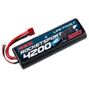 Batterie LiPo 2S Rocket Sport - 7,4V - 4200mAh - 25C